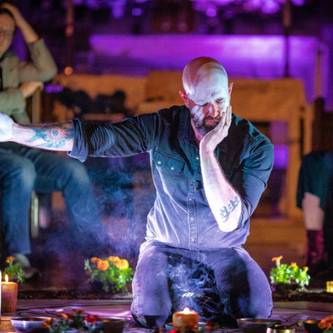 Janaka Stucky performing Ascend Ascend.