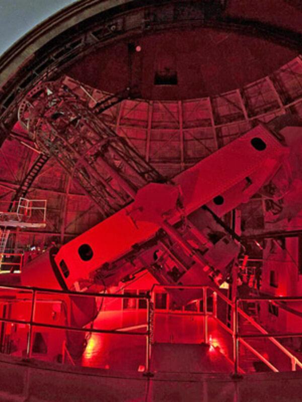 100-inch telescope.