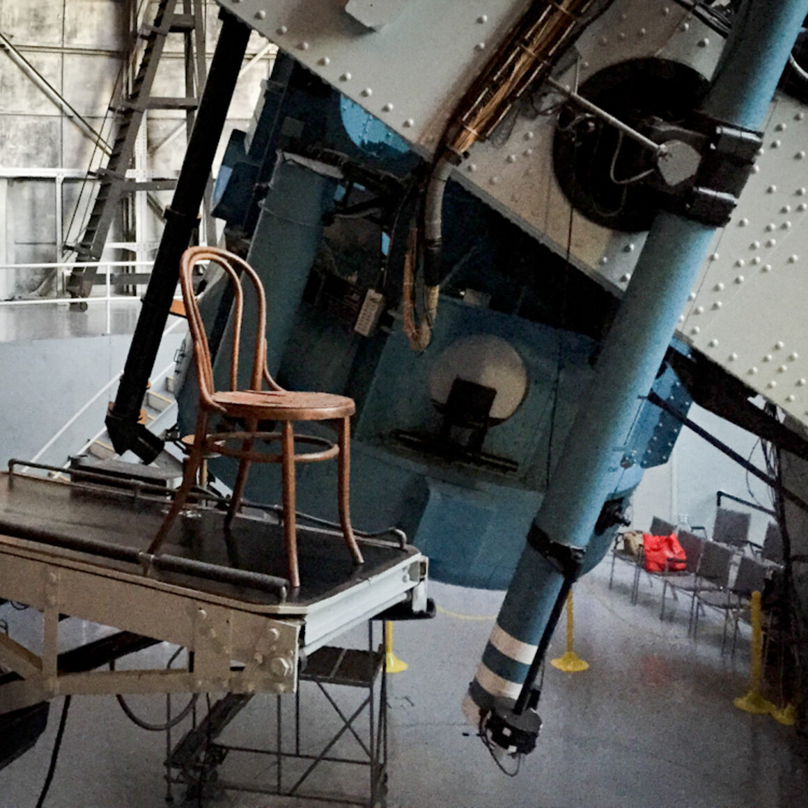 Edwin Hubble's chair.