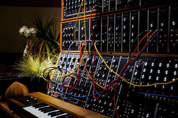 Moog Modular systems.