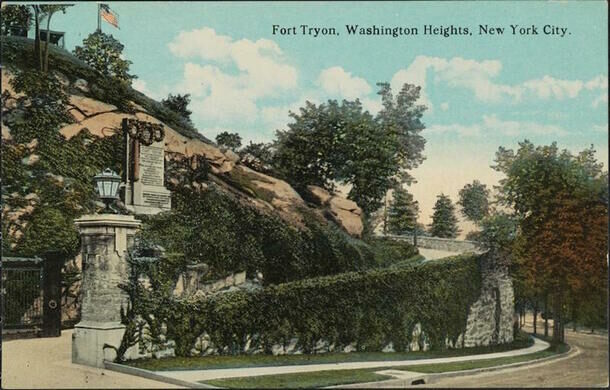 Postcard of Fort Tryon Park.