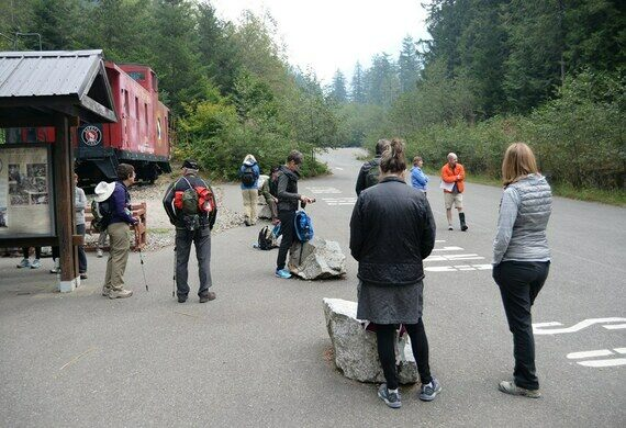 Iron Goat Trail Interpretive Site.