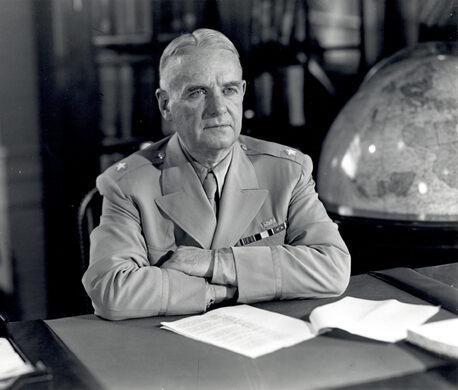 """Wild Bill"" Donovan, head of the OSS."
