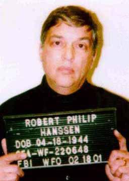 Alleged Spy Robert Hanssen's Mug Shot.