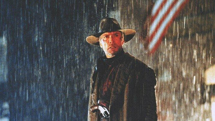 Clint Eastwood as William Munny in 'Unforgiven.'