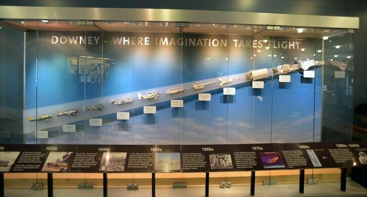 Downey aviation timeline.