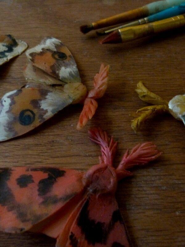 Moths assemble!