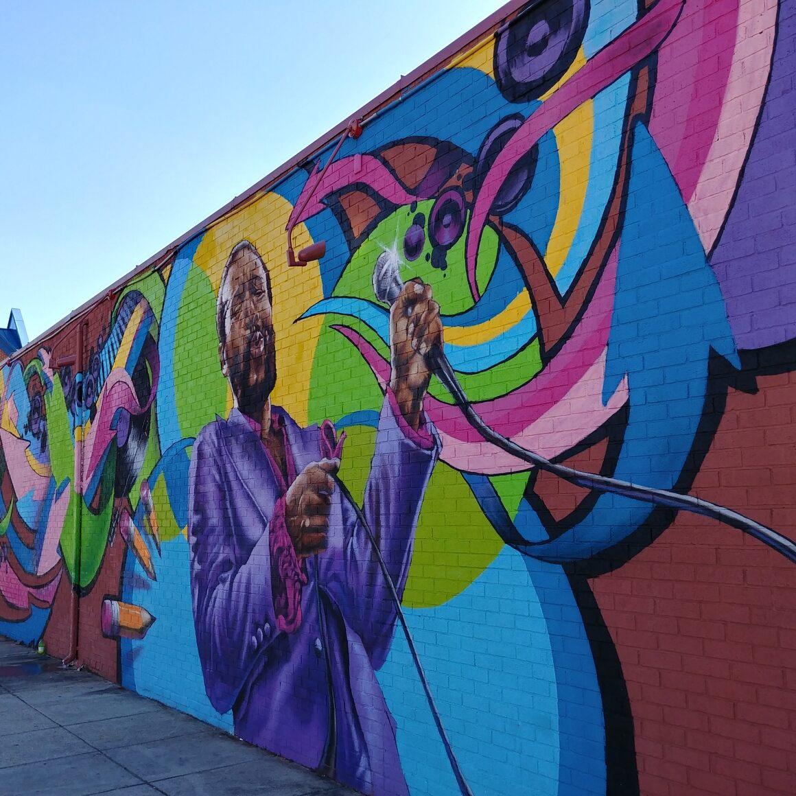 U Street Graffiti Art.