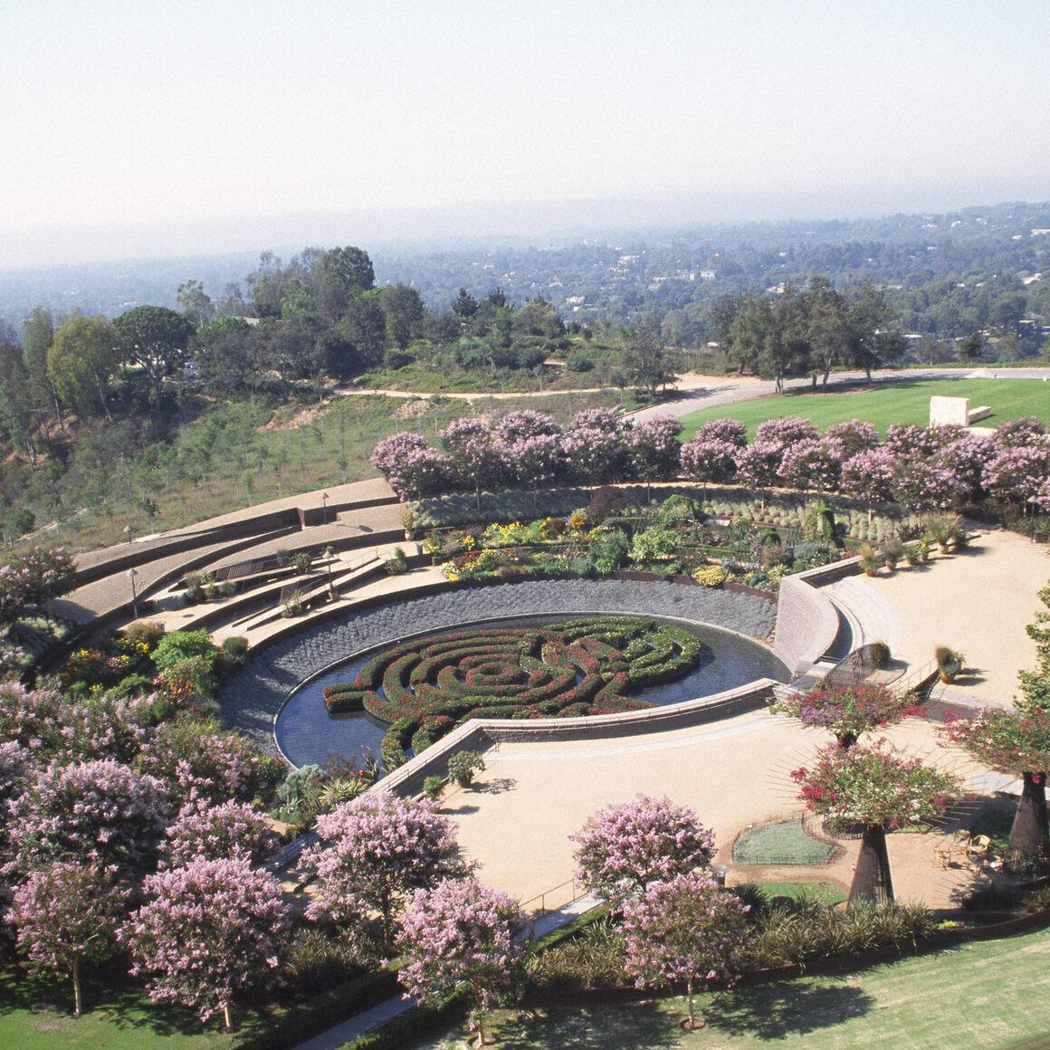 Central Garden designed by Robert Irwin