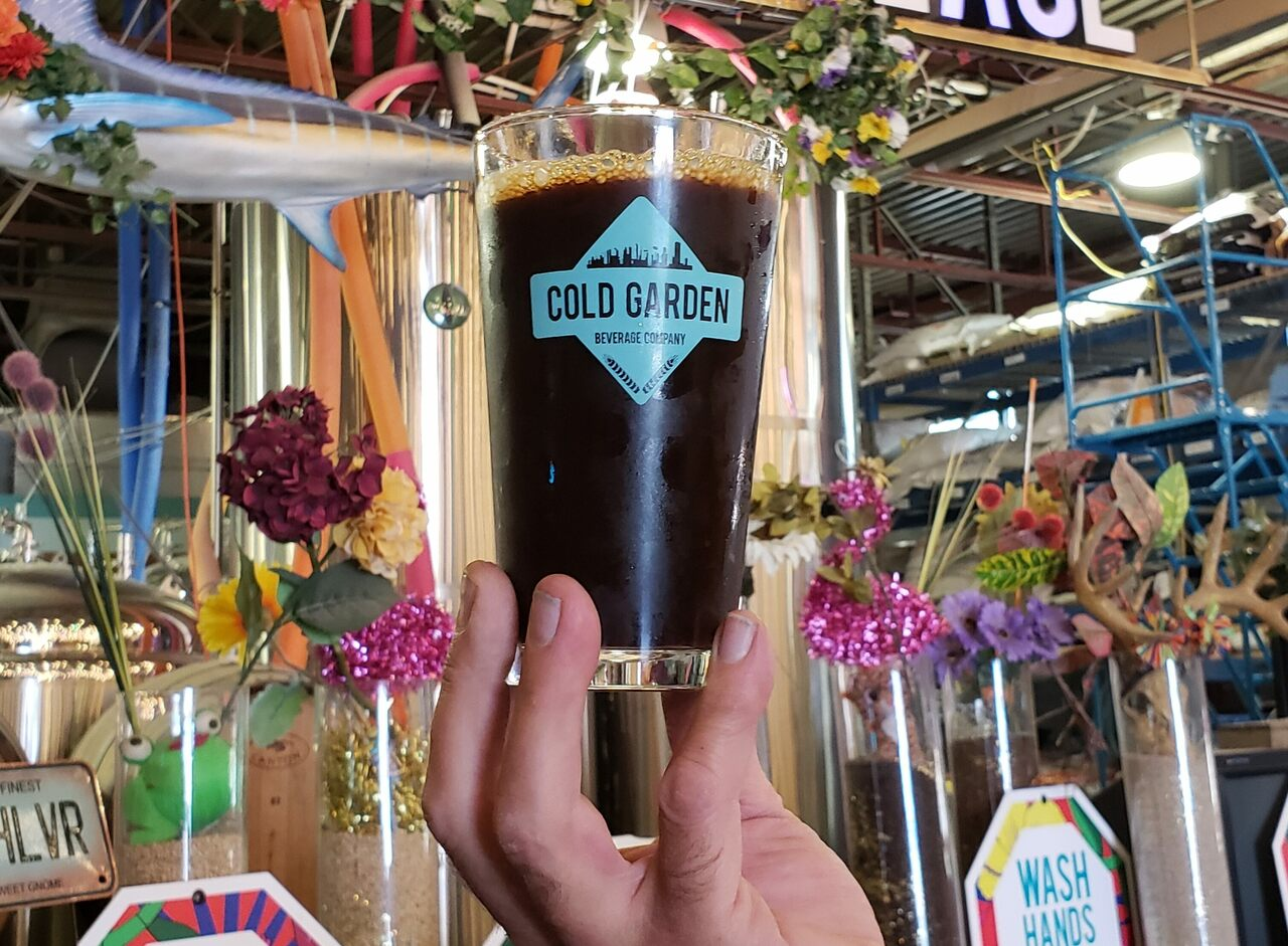 Thanks to Cold Garden Brewery, Cronk has entered the 21st century.