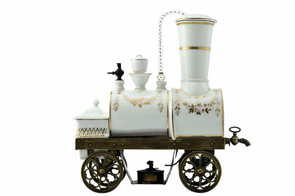 The Coolest Coffee Maker of the 19th Century Was a Tabletop Train