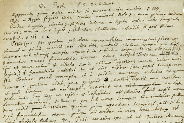 Sold: Isaac Newton's Notes About the Bubonic Plague