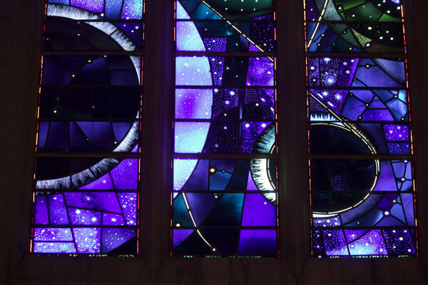 The Story Behind the 'Space Window' at D.C.'s National Cathedral