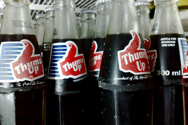 "Thums Up's marketing enjoined consumers to ""Taste the Thunder!'"