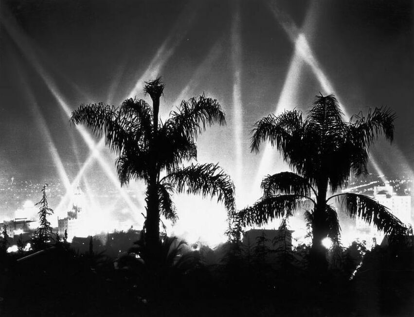 Hollywood by night, 1930.