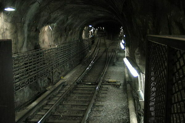 The Stockholm Metro Ghost Train