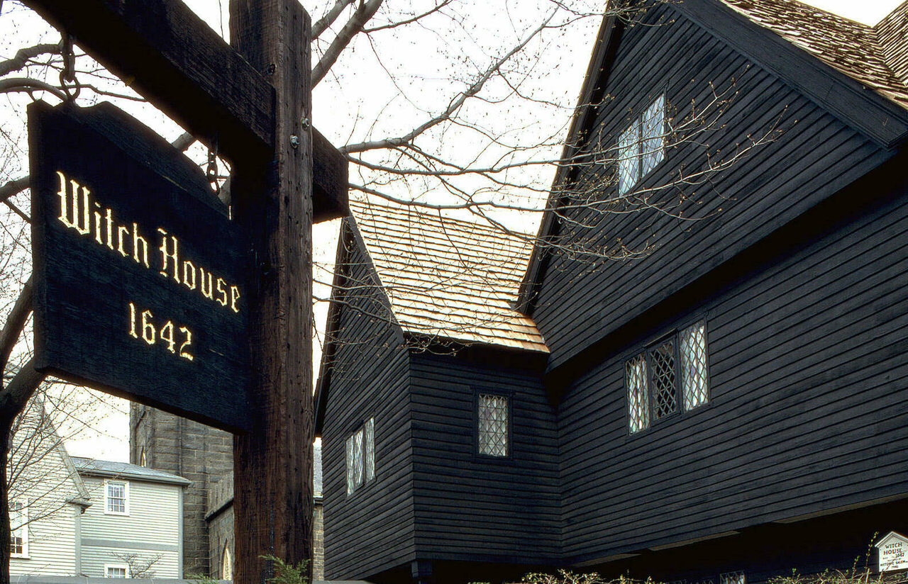 Salem Witch House.