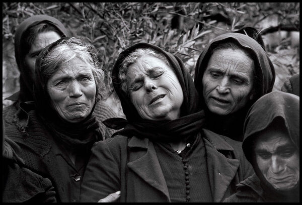 The Professional Mourners of Mani, Greece