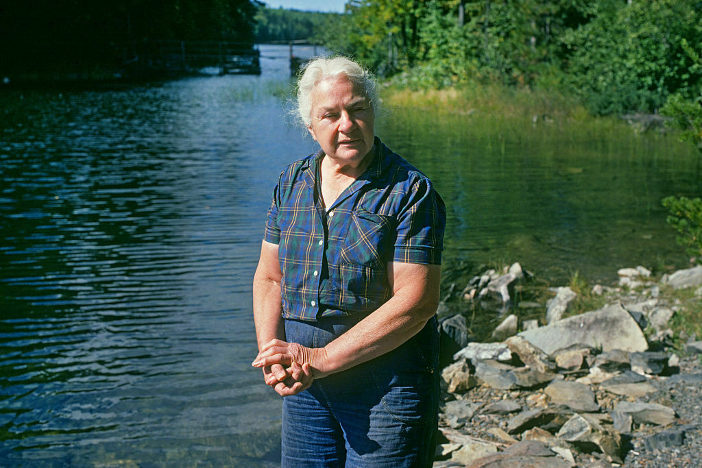 For 56 years, Molter lived a mostly solitary life on Knife Lake.