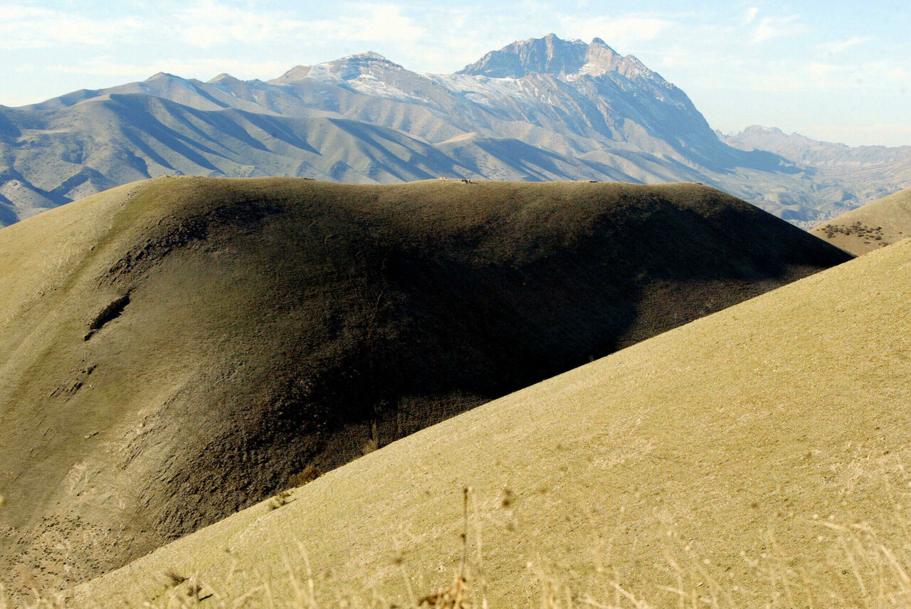 Mountains north of Sulaymaniyah, near the Iraq-Iran border, in the Kurdish homeland, where poet Hajjar Baban's father was born.