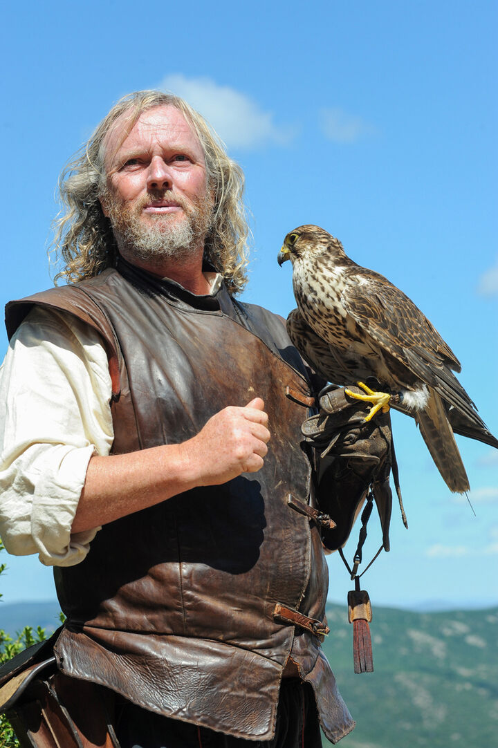 These French Falconers Are A Family Act Atlas Obscura