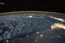 Fleeting Wonders: A Lightning Storm Viewed From Space