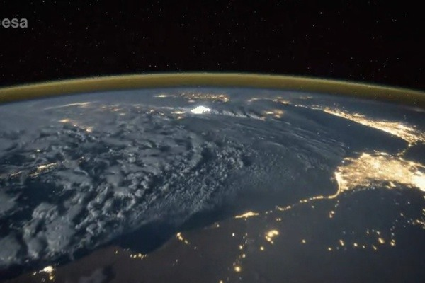 Lightning, Viewed From Space