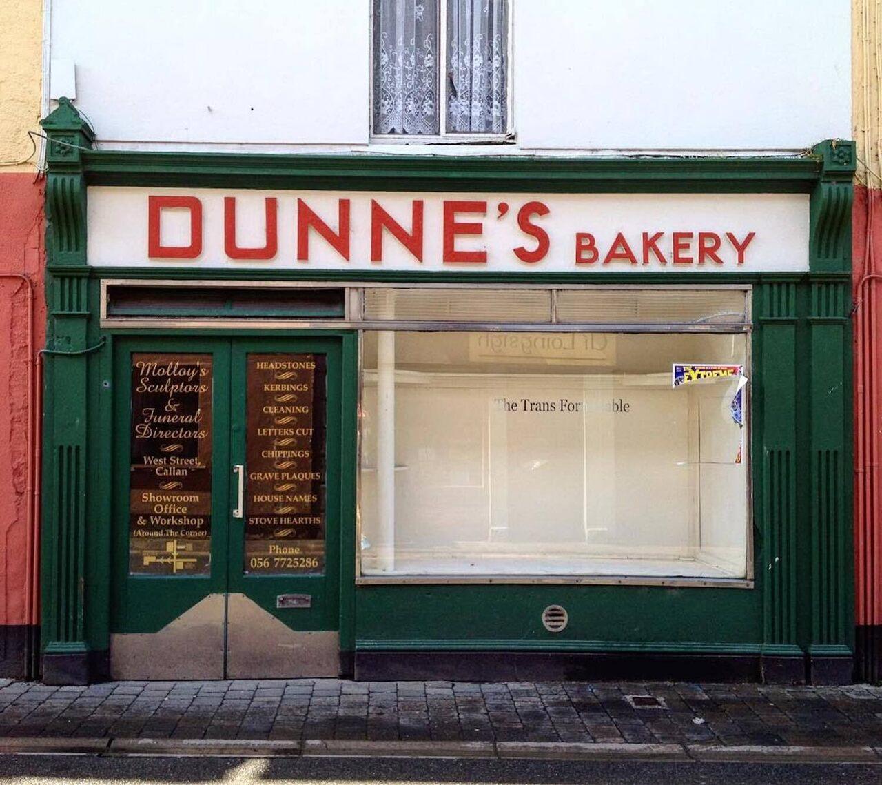 Dunne's Bakery, Callan, County Kilkenny.