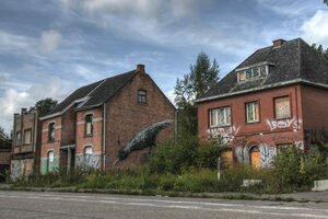 Doomed Belgian Village Strives for Salvation by Inviting Street Artists into the Ghost Town