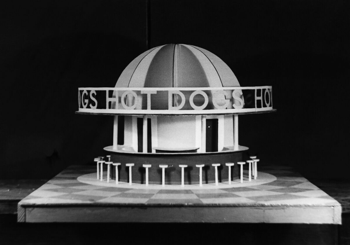 famous architects. Hot Dog Stand For The New York World\u0027s Fair, Unknown, C. 1939. Famous Architects