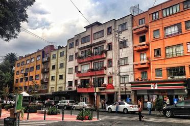 La Condesa neighborhood of Mexico City