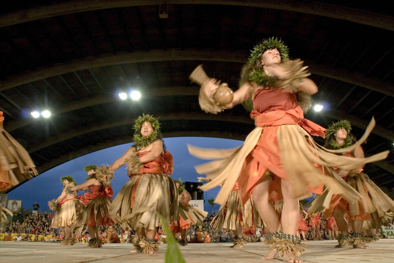 Merrie Monarch dancers in 2006.