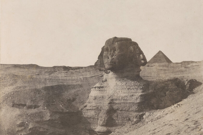 The Strange Emptiness of Egypt in 19th-Century European Photographs