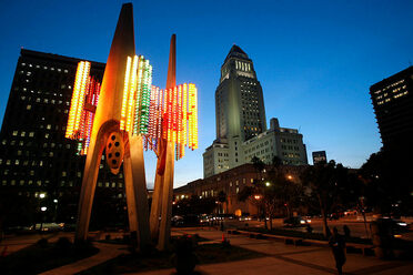 The Triforium was lit up for a special event back in 2006.