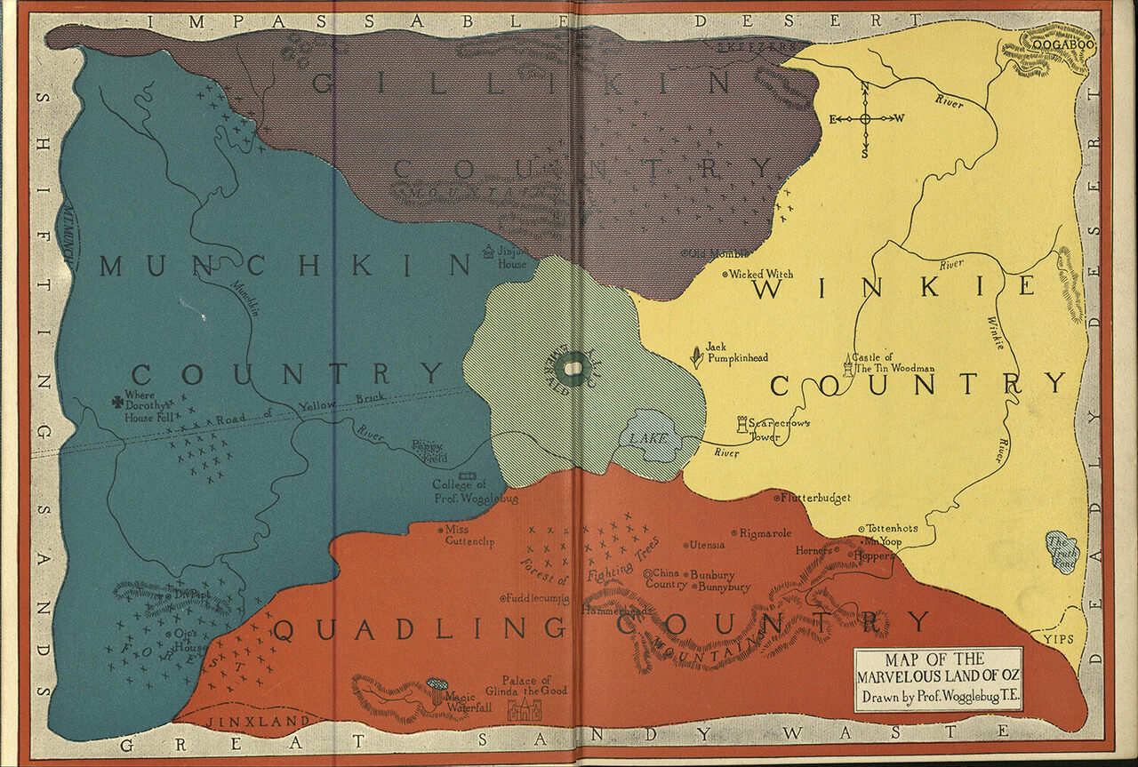 Literature Map Of The World.Charting The Geography Of Classic Literature Atlas Obscura