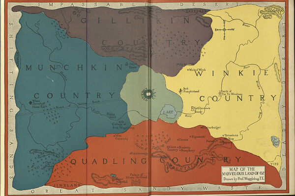 The Obsessively Detailed Map of American Literature's Most ... on