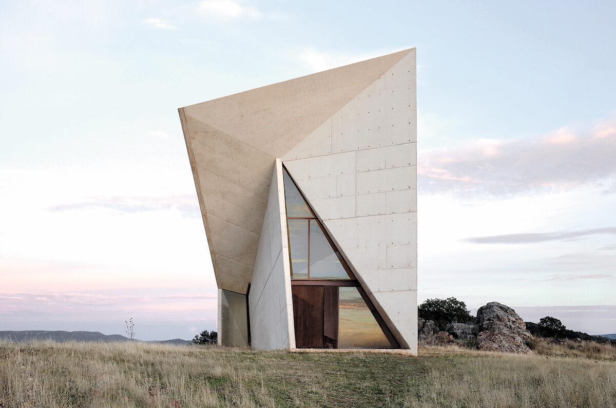 Chapel, Sancho-Madridejos, 2000, Valleaceron, Spain.