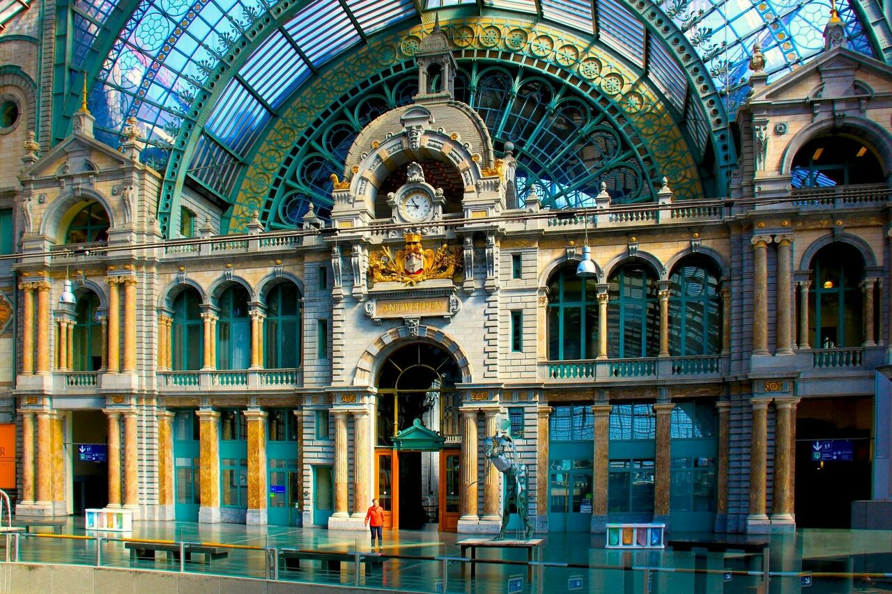 Antwerp Central Station is much more than just another place to catch the train.