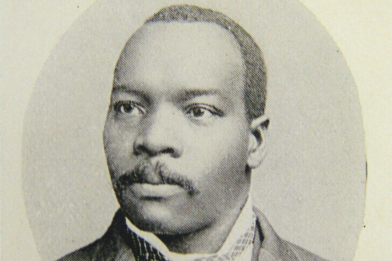 Granville T. Woods, pictured in an 1895 issue of <em>The Cosmopolitan</em>.