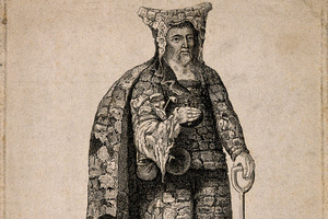 Before the Garden Gnome, the Ornamental Hermit: A Real Person Paid to Dress like a Druid