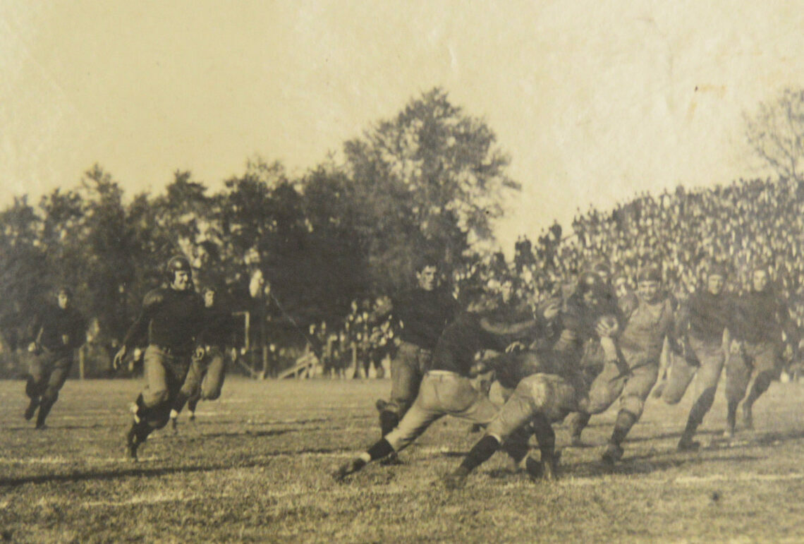 University of Chicago vs University of Illinois, October 1907.
