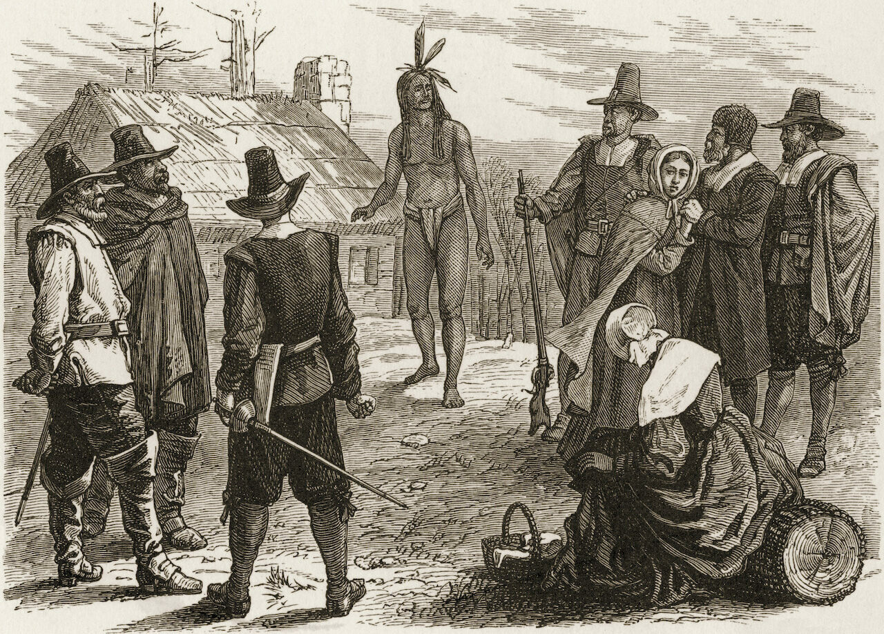 Every American schoolchild learns how Native Americans helped the Pilgrims survive their first year in what's now Massachusetts, but the full story is far more complex.
