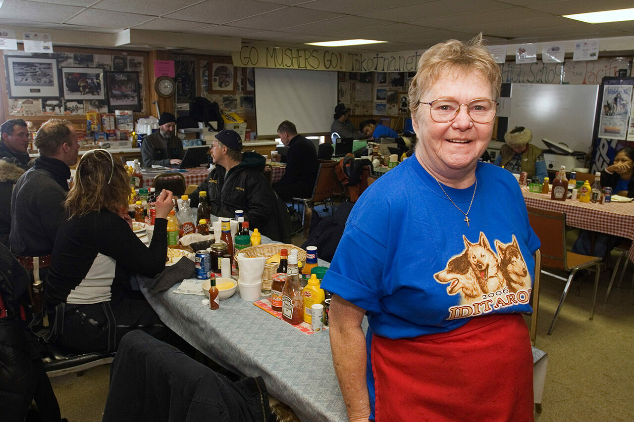Jan Newton, pictured here in 2006, made the tiny town of Takotna synonymous with pie and generosity.