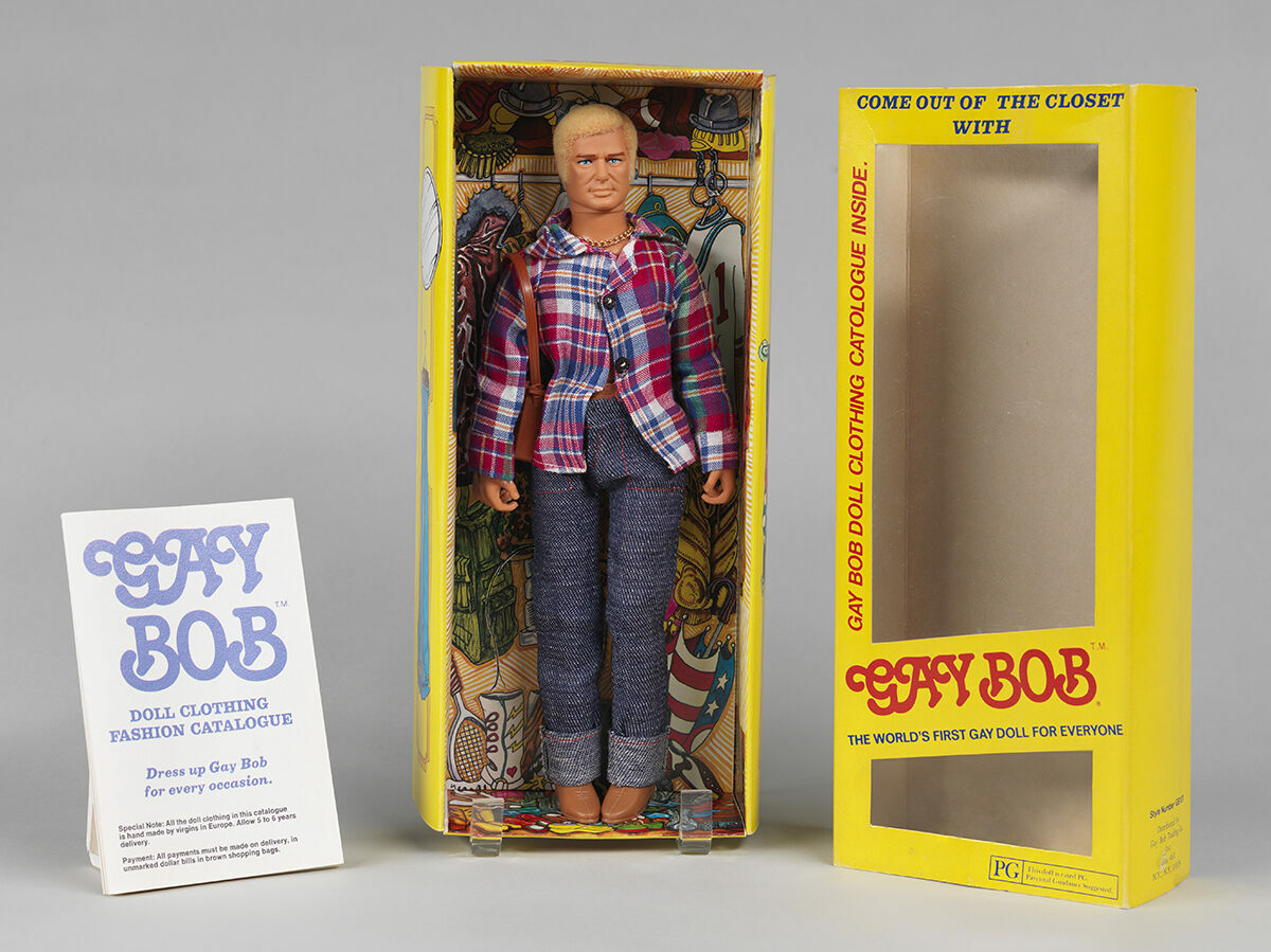 The Gay Bob doll in all his glory.