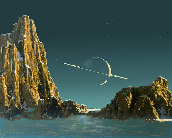 Meet the Father of Modern Space Art | Atlas Obscura