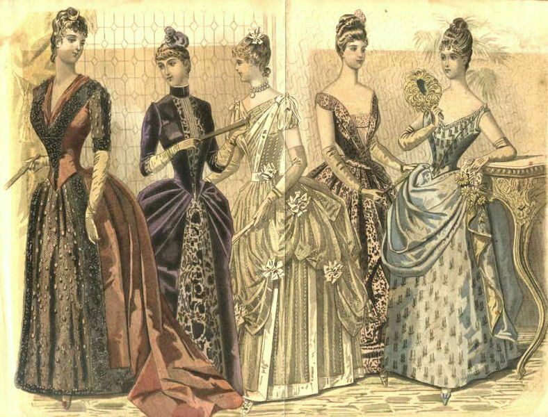Victorian women were overly concerned with fitting beauty standards.