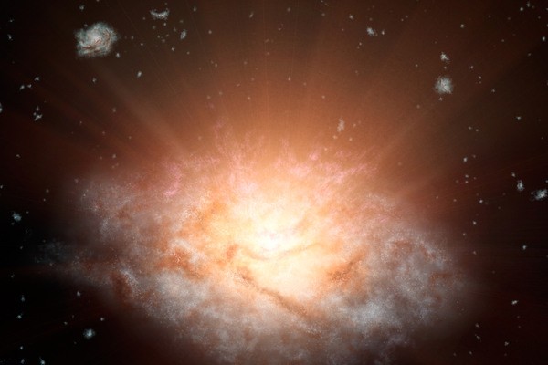 Found: The Most Luminous Galaxy Ever Seen