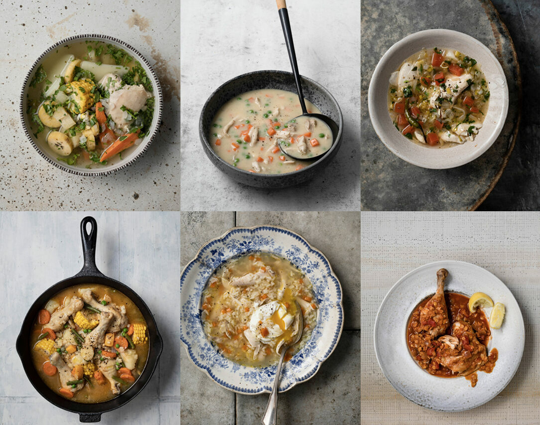 A selection of soups from <em>The Chicken Soup Manifesto</em>.