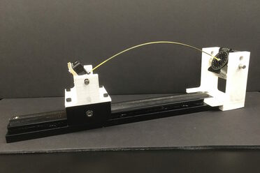 Ronald Heisser's scientific spaghetti-bender.