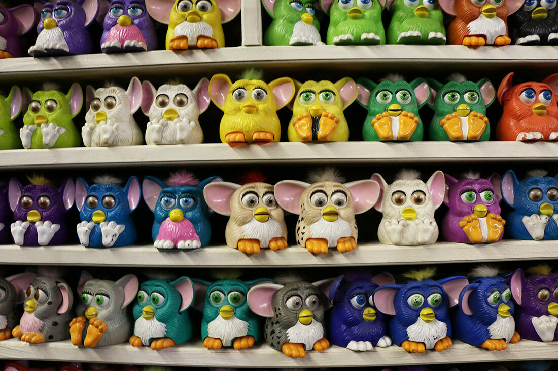 A secret collection of Furbies.